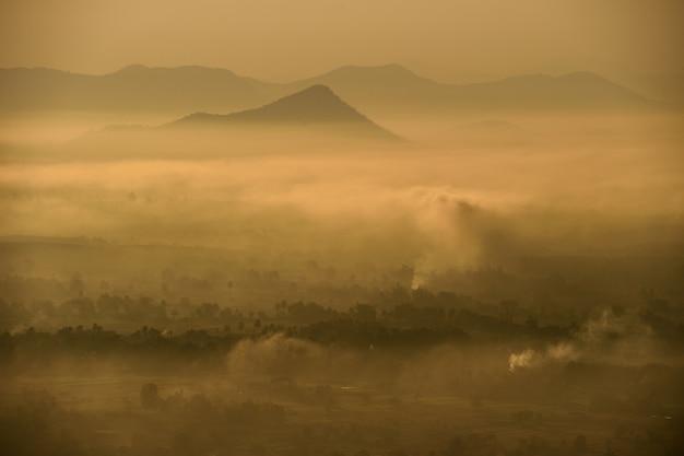 Grande localização paisagem natural na tailândia