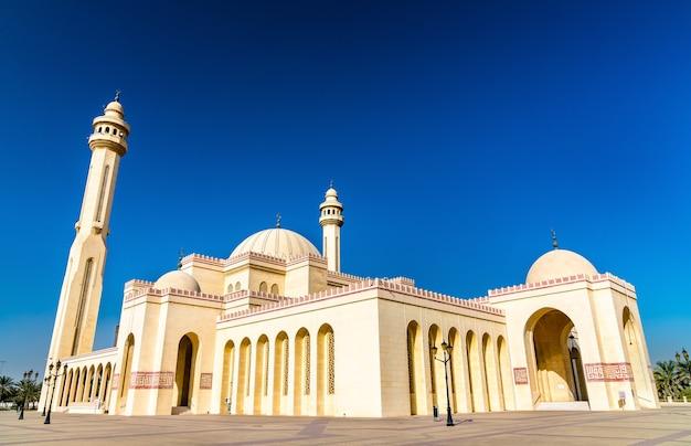 Grande mesquita al fateh em manama, capital do bahrein