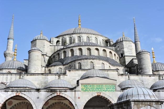 Grande mesquita em istambul