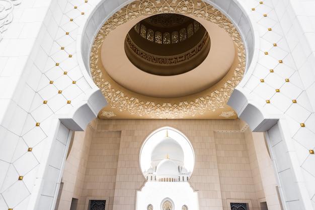 Grande mesquita sheikh zayed de abu dhabi