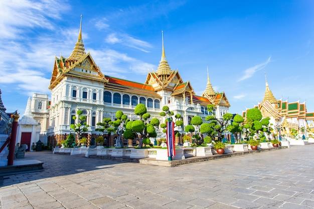 Grande palácio e wat pra kaew