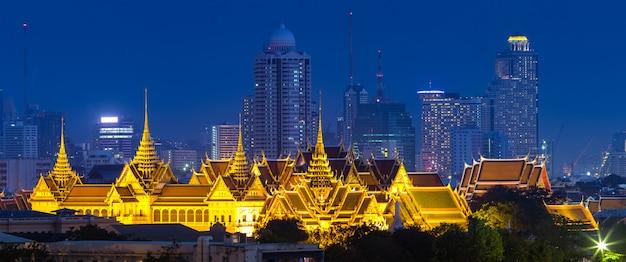 Grande palácio real em banguecoque