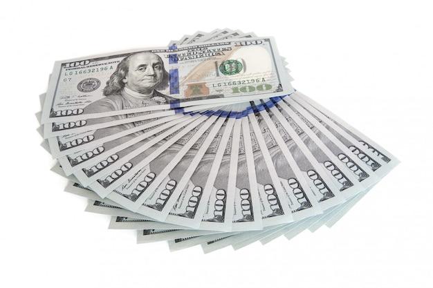Grande pilha de dinheiro