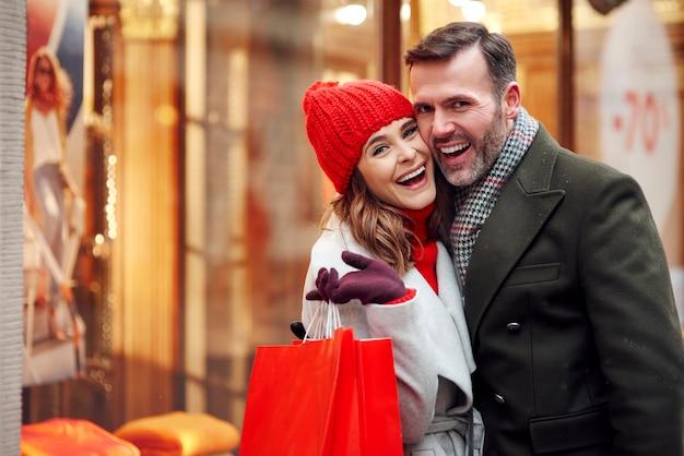 Grande satisfação após grandes compras