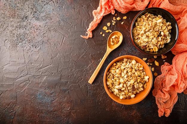 Granola deliciosa caseira