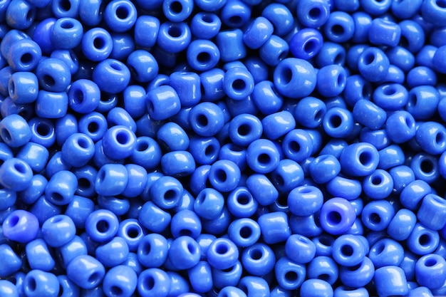 Grânulos de cor azul