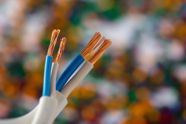 Grânulos de polímero de plástico colorido para cabo