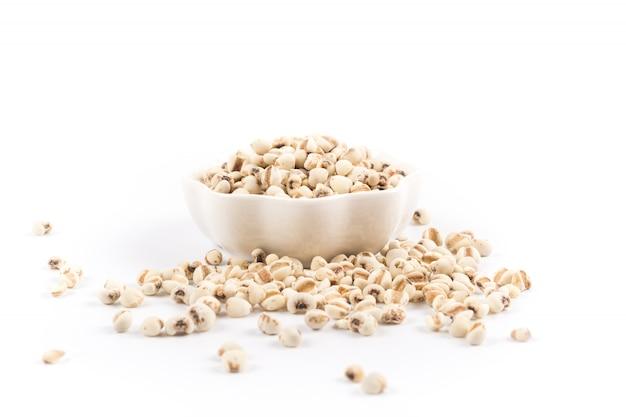 Grão orgânico para uma dieta saudável