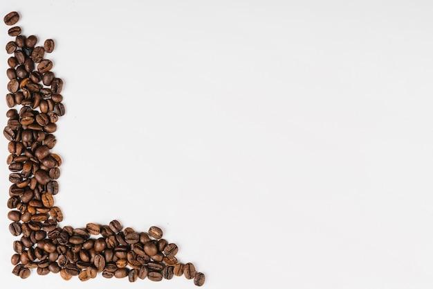 Grãos de café aromáticos