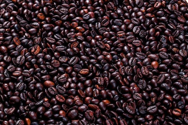 Grãos de café.