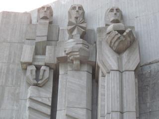 Gratidão monumento comunista
