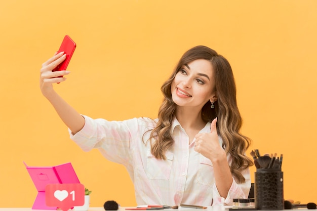 Gravação do blogger para blog pessoal com celular