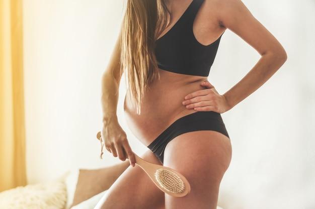 Gravidez e massagem seca