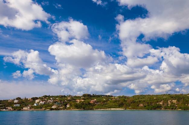 Grécia, ilha de zakynthos - mar, céu, férias.