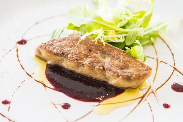 Grelhado de foie gras