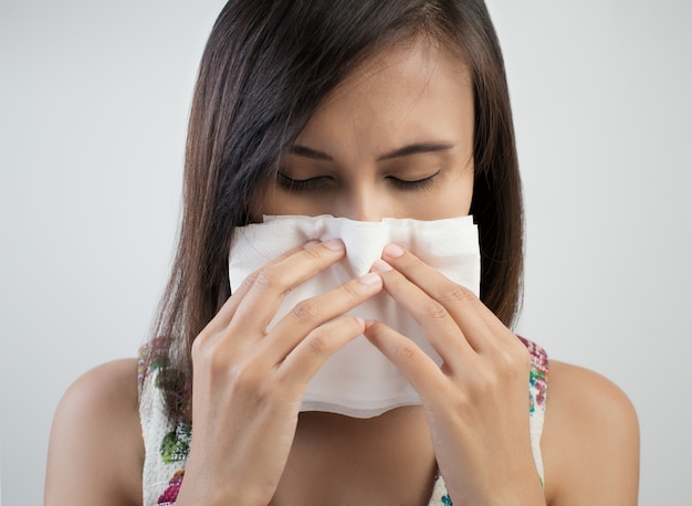 Gripe resfriado ou sintoma de alergia