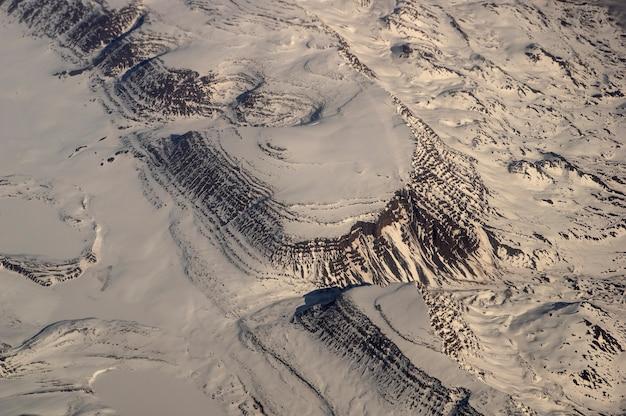 Groenlândia 11.000 metros alt. vista de avião