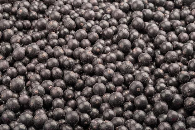 Groselhas pretas frescas congeladas