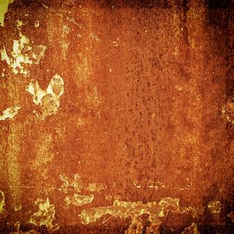 Grunge oxidação de metal e textura de laranja para o fundo de halloween com espaço