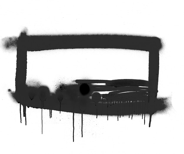 Grunge parede salpicado respingos sujo