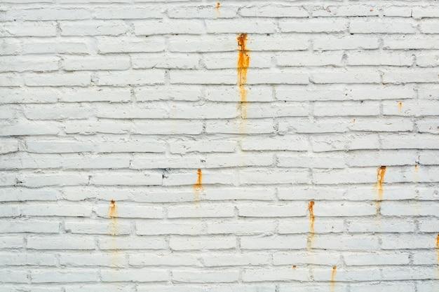 Grunge resistiu ao padrão de fundo de parede de bloco de tijolo