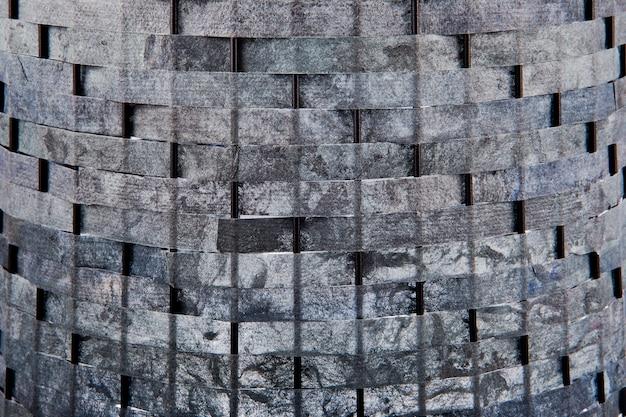 Grunge tecer reciclado fundo de ofício de papel dobrado
