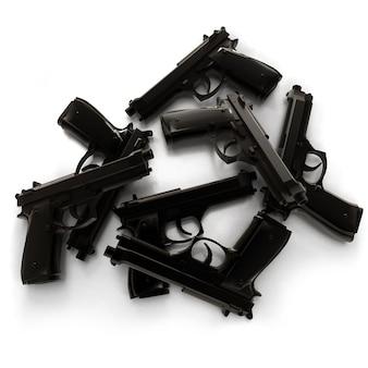Grupo de armas pretas