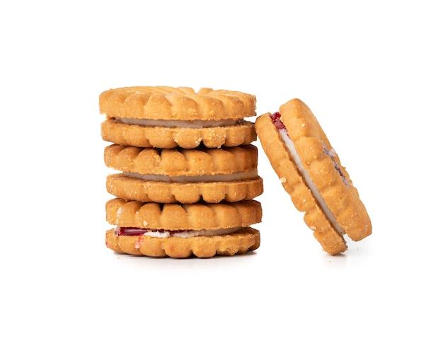 Grupo de biscoitos ou bolachas