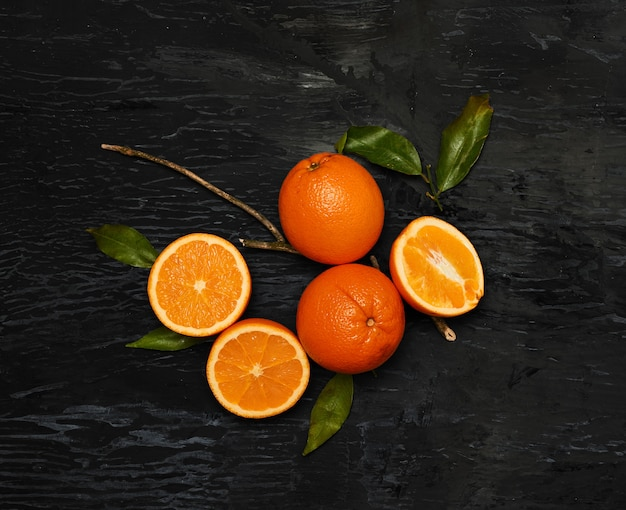 Grupo de frutas frescas