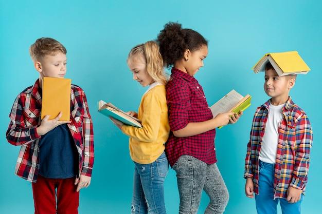 Grupo de leitura infantil