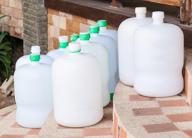 Grupo de tanque de água potável