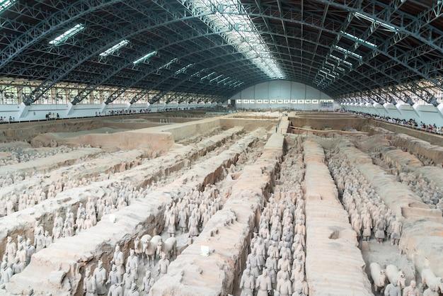 Guerreiros de terracota de xian china