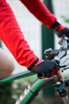 Guidão de bicicleta