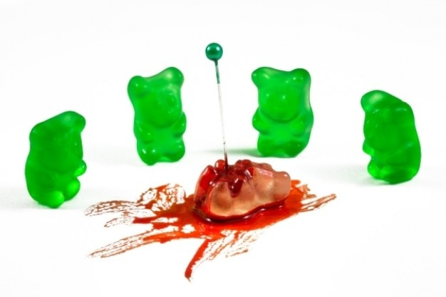 Gummy bear crime de ódio