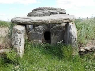 Habitação neolítica na turquia, edirne