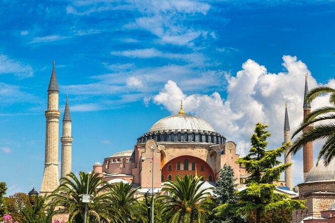Hagia sophia em istambul, turquia