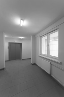 Hall de entrada do edifício residencial