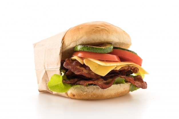 Hambúrguer de bacon