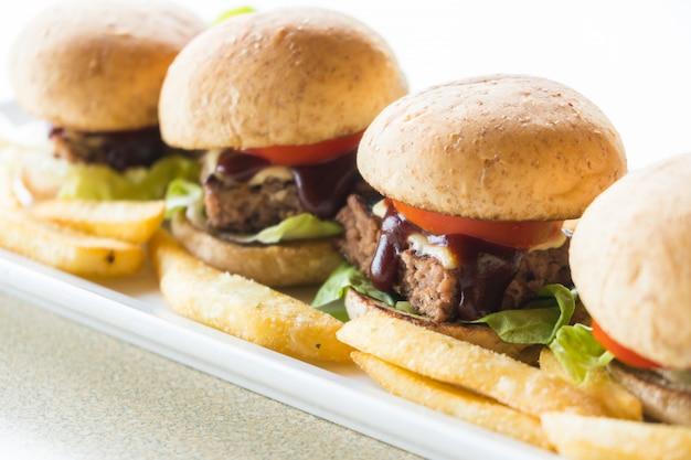 Hambúrguer de carne bovina