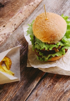 Hambúrguer delicioso