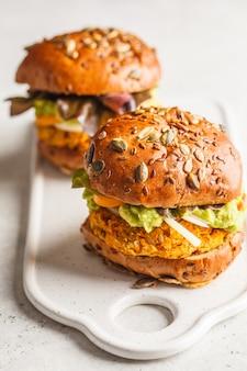Hambúrgueres veganos
