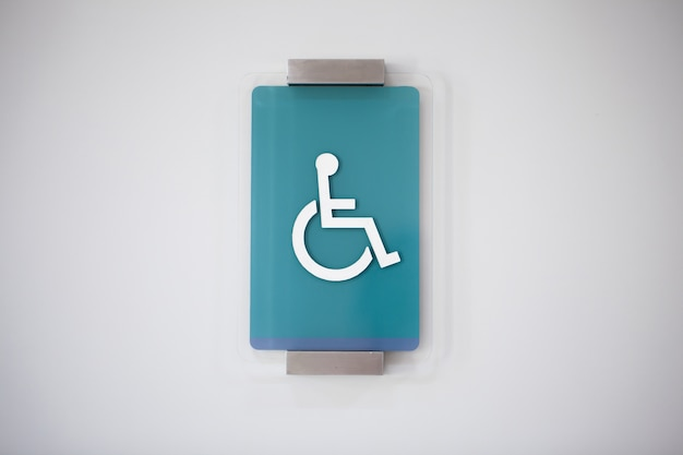 Handicap sign select focus