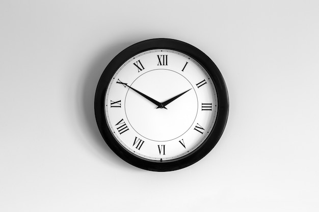 Happy clock roman dial