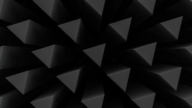 Hastes triangulares. fundo abstrato decorativo.