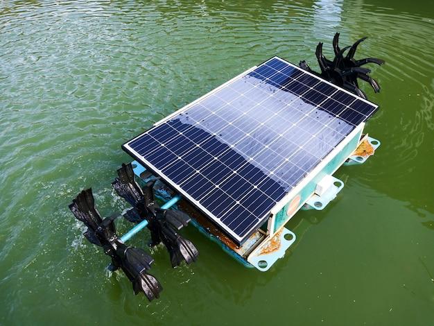 Hélice de água solar