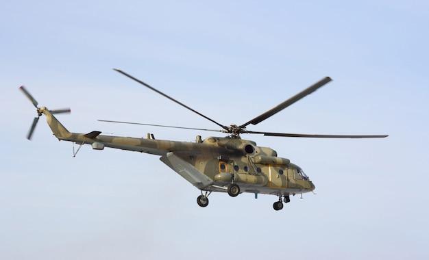 Helicóptero do exército russo mi-8