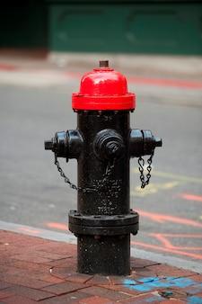 Hidrante em boston, massachusetts, eua