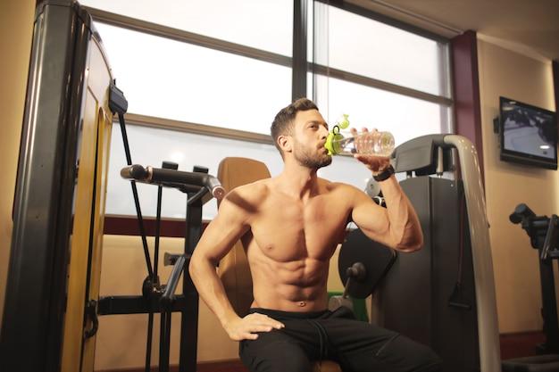 Hidratante depois do treino