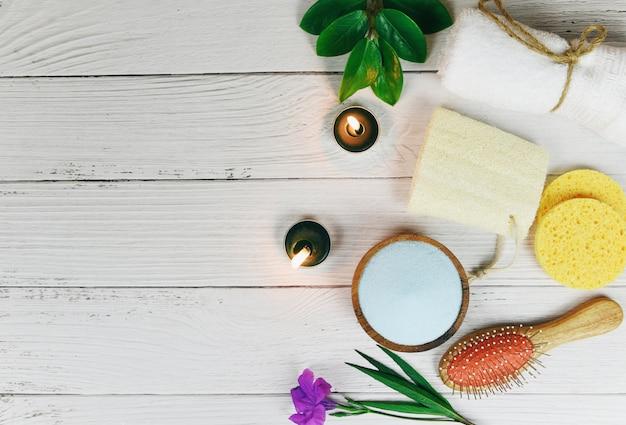 Higiene cosmética natural da dermatologia erval natural do cuidado do corpo para o tratamento do skincare da beleza