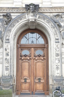 Historicamente arquitetura dresden saxony